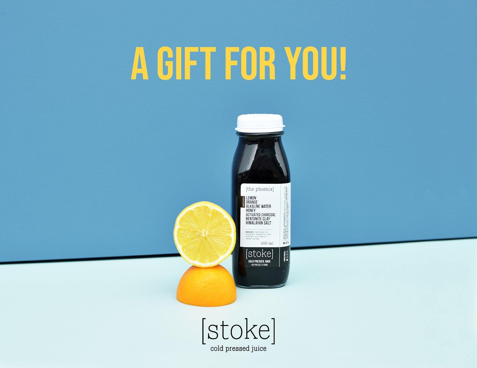 Stoke Juice Gift Cards - Stoke Cold Pressed Juicery