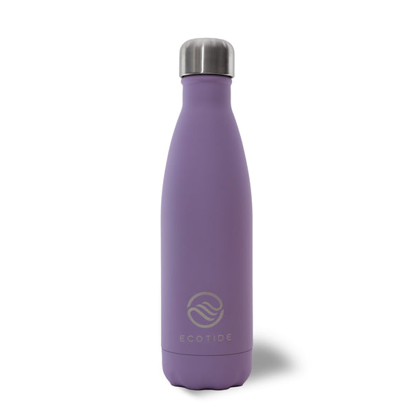 Matte Purple 500ml Water Bottle