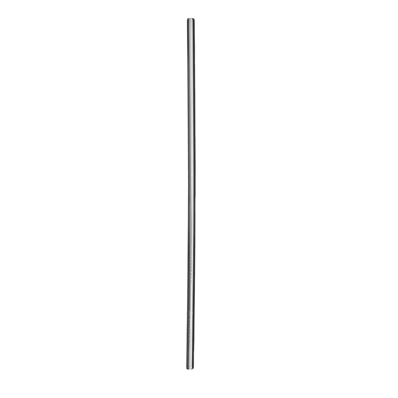 4 Pack Metal Straws - Silver