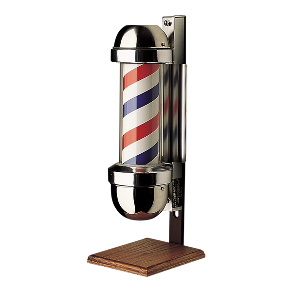 William Marvy American Made 410 On-Stand Barber Pole 22.5""