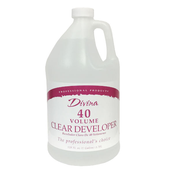 One Gallons of 40 Volume Clear Peroxide
