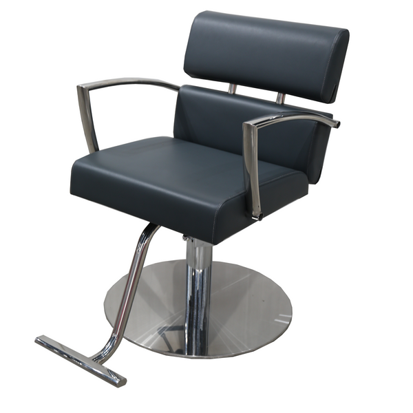 Charlotte Hair Salon Styling Chair - Grey - Factory-Direct Clearance Sale