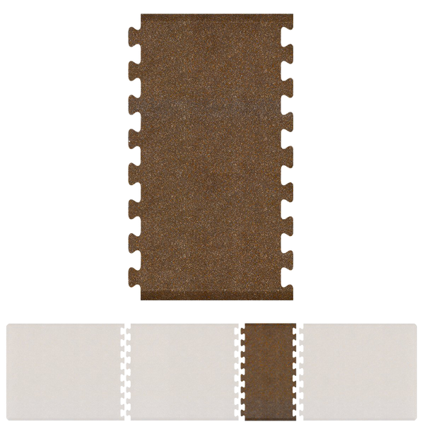 Bty Infinity Granite Spacer 4' X 2.25' - Copper Salon Mat