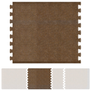 Bty Infinity Granite Center 4' X 5' - Copper Salon Mat