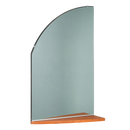Ellipse Mirror with Shelf