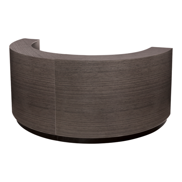 "Ellipse System ""A"" American-Made Reception Desk"