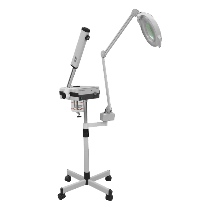 Seagoville Facial Steamer with Magnifying Lamp