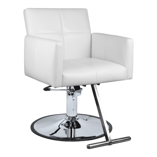 Fara Hair Salon Styling Chair - White - Factory-Direct Clearance Sale