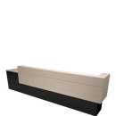Garbo American-Made Reception Desk - F