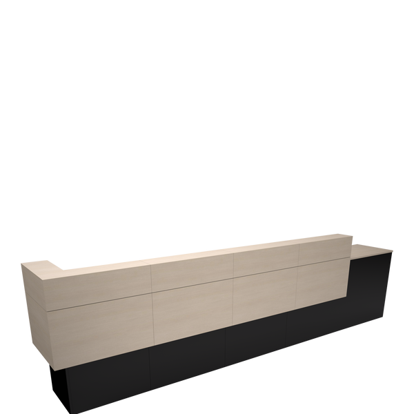 Garbo American-Made Reception Desk - E