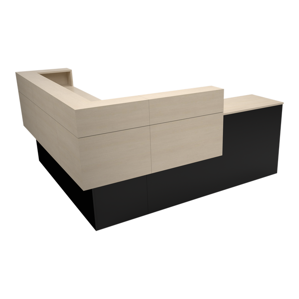 Garbo American-Made Reception Desk - L