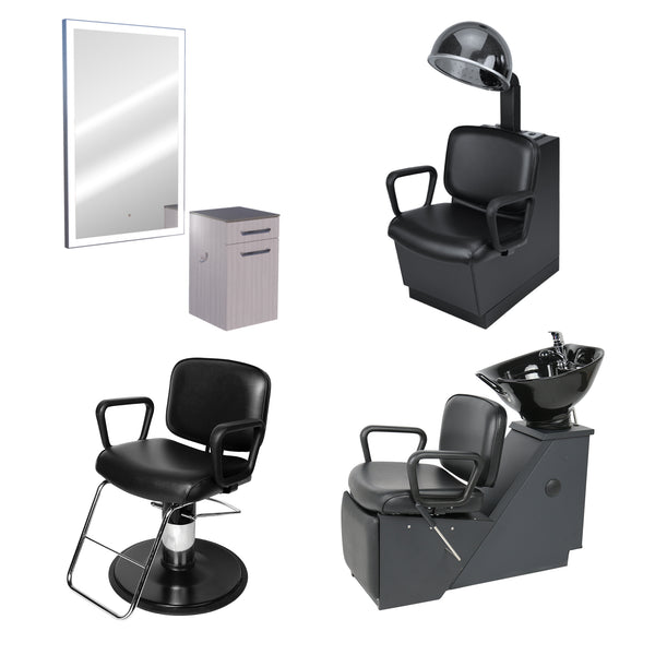 GL-04-C One Stylist American-Made Hair Salon Package