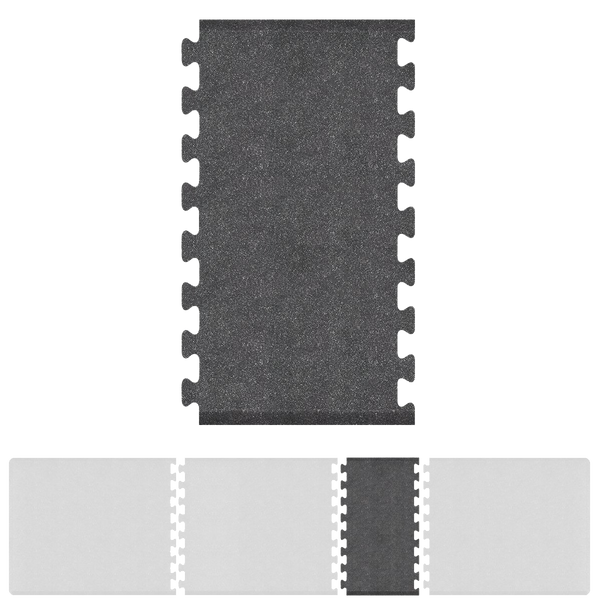 Bty Infinity Granite Spacer 4' X 2.25' - Steel Salon Mat
