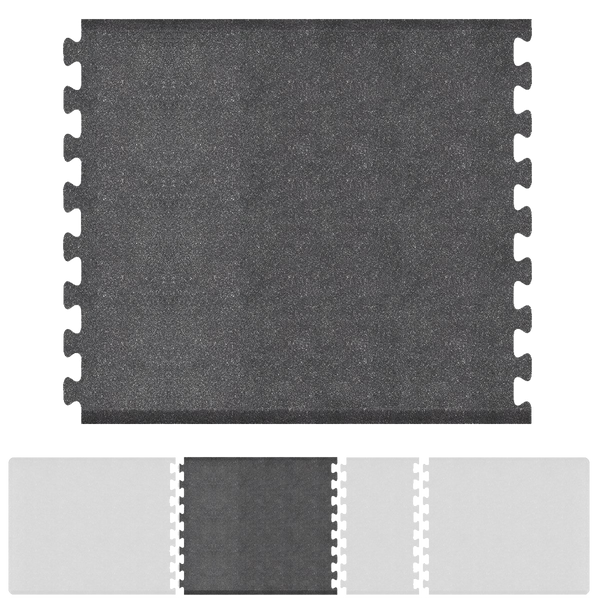 Bty Infinity Granite Center 4' X 5' - Steel Salon Mat