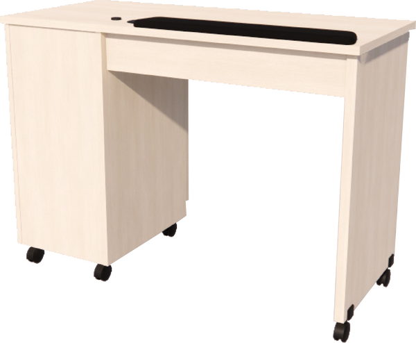 Imperial Single Storage Manicure Table