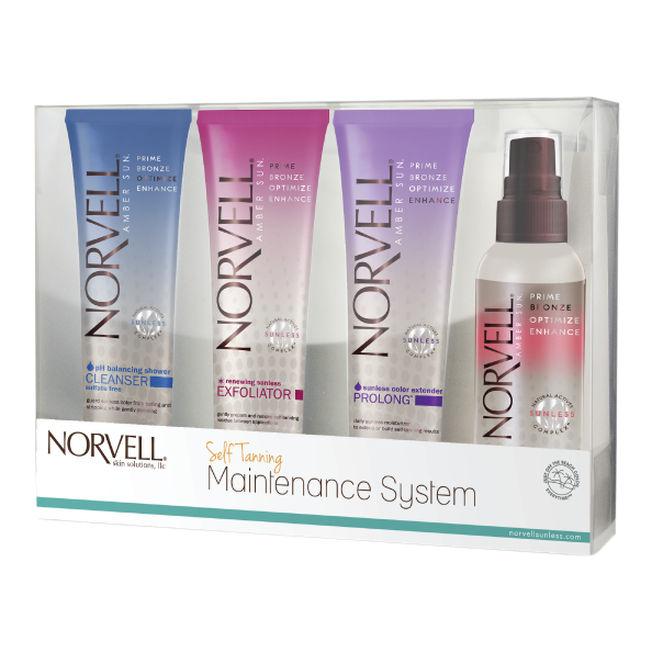 Self Tanning Maintance System