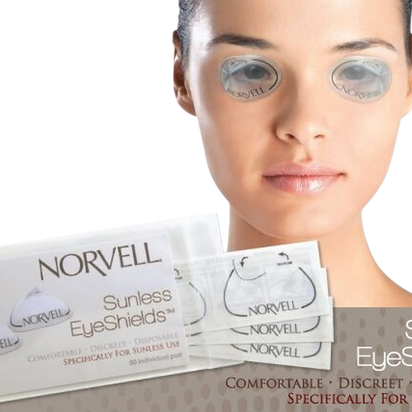 Norvell Sunless Clear EyeShields