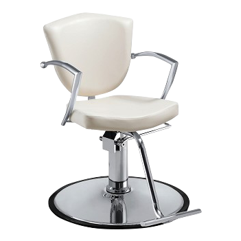 Veronica Styling Chair - White