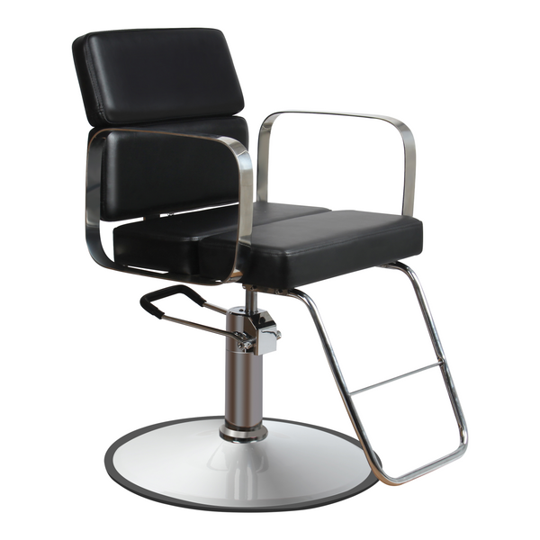 Zac Hair Salon Styling Chair - Black - Factory-Direct Clearance Sale