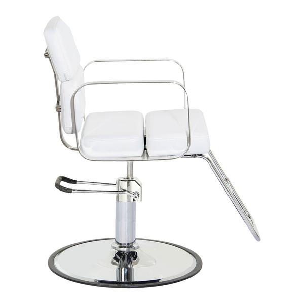 Zac Hair Salon Styling Chair - White - Factory-Direct Clearance Sale
