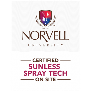 "Norvell University "" Certified Tech On-Site"" Window Cling"