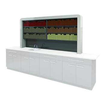 Rechteck American-Made Color Storage Unit