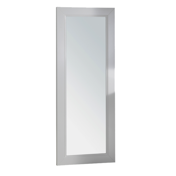 Whistler Framed Mirror - White - Factory-Direct Clearance Sale