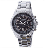 Curren Quartz Men's Stainless Steel (Black 4.5cm Dial) - CUR074