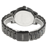 Curren Men's Watch with Black Steel Band (Black 4.7cm Dial) - CUR003