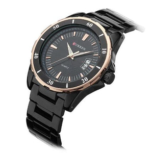 Curren Quartz Stainless Steel Watch (Dial 4.5cm) - CUR170