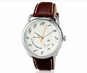 Curren Women's Faux Leather Band Watch (Dial 4.2cm) - CUR 146