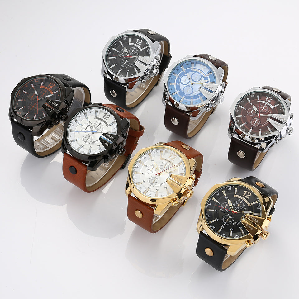 Curren Quartz High Fashion New Watch (Dial 5.5cm) - CUR120
