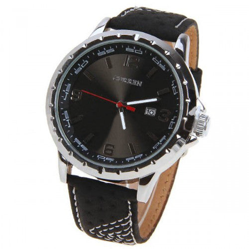 curren men s watch leather band shadow 5 3cm dial cur024 curren men s watch leather band shadow 5 3cm dial cur024