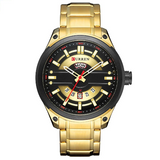 Curren Gold Luxury Men's Watch (Dial 4.5cm) - CUR 168