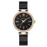 Curren Women's Beautiful Dial Watch (Dial 3.0cm) - CUR 147