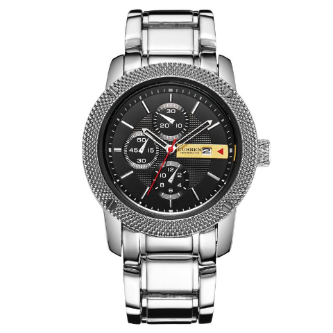 Curren Luxury Quartz Men's Watch (Dial 4.4cm) - CUR 151