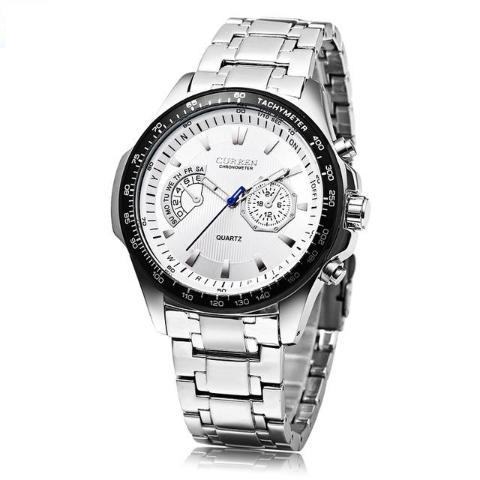 Curren Waterproof Stainless Steel Watch (Dial 4.5cm) - CUR 157