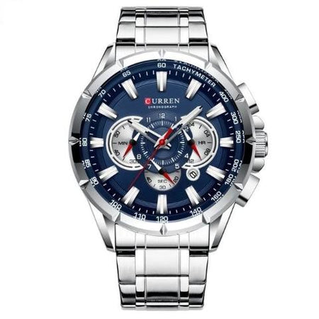 Curren Men's Luminious Pointers Premium Watch (Dial 4.8cm) - CUR181