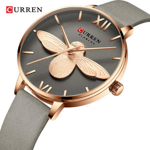"Curren ""Blanche"" Unique Design Ladies Watch (Dial 3.2cm) - CUR 179"