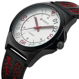 Curren Men's Quartz Watch (Dial 4.4cm) - CUR 130