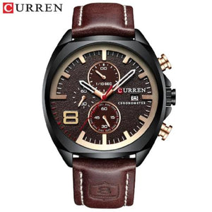 Curren Waterproof Luxury Chronograph Watch (Dial 4.7cm) - CUR173
