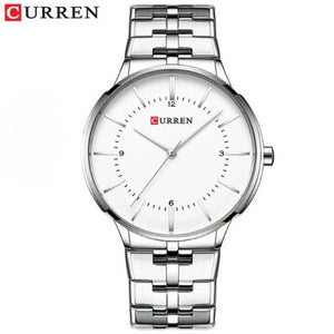 Curren Blue Fashion Watch (Dial 4.2cm) - CUR189