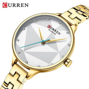 Curren New Women's Blanche Watch (Dial 3.3cm) - CUR191