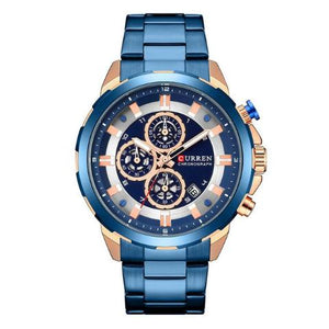 Curren New Chronograph Watch (Dial 4.8cm) - CUR176