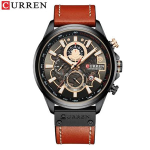 Curren Men's New Creative Chronograph Watch (Dial 4.8cm) - CUR196