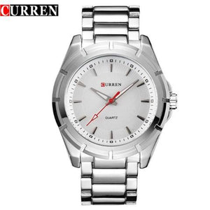 Curren Big Dial Stainless Steel Watch (Dial 4.4cm) - CUR 145