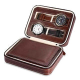 Curren PU Leather 4 Grids Watch Box - CUR WB1001