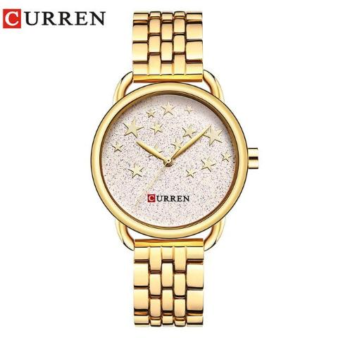 Curren Women's Star Dial Watch (Dial 3.0cm) - CUR 160