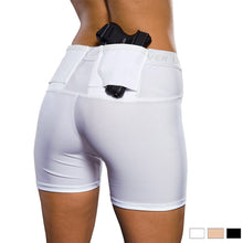 "Load image into Gallery viewer, WOMENS CONCEALED CARRY 4"" SHORTS"