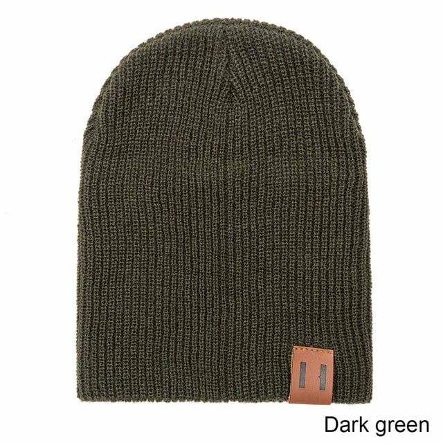 Solid Wool Beanie